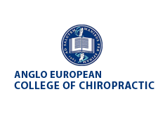 The Anglo-European College of Chiropractic logo